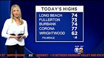 Evelyn Taft's Weather Forecast (April 1)