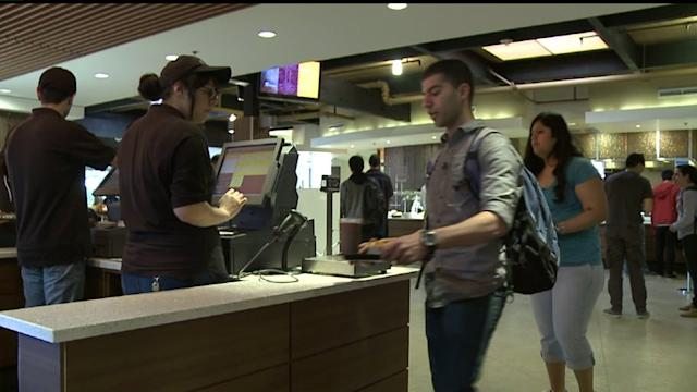 College Students Donate Leftover Lunch Money To Food Bank