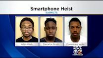 Police Arrest 3 Men In Theft Of 92 Smartphones From Sprint Store At Pittsburgh Mills