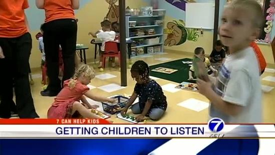 Getting children to listen