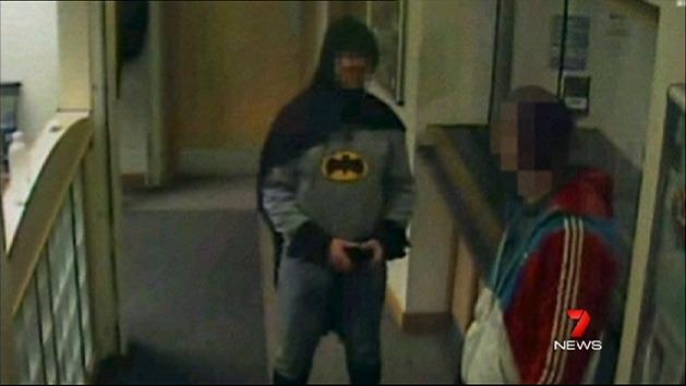 Real-life Batman comes forward