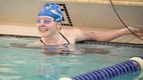 Teen With One Arm & No Legs Shattering Swim Records