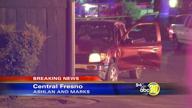 Police search for shooter in Central Fresno homicide