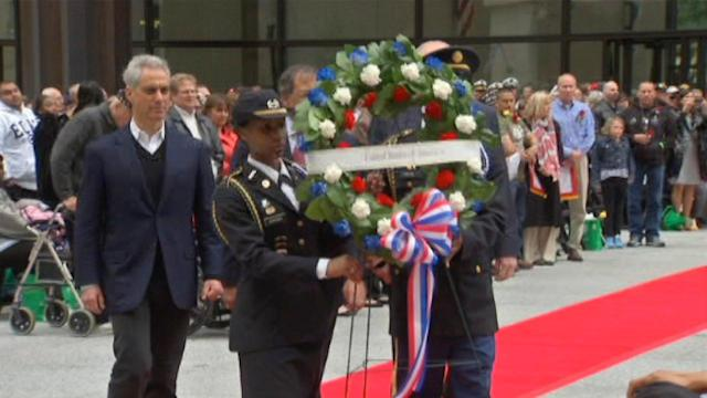 Chicago Memorial Day Parade honors those who made the ultimate sacrifice