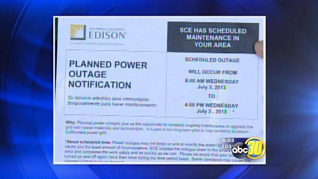 Power outages in Green Acres postponed