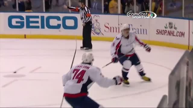 Alex Ovechkin wins it in overtime