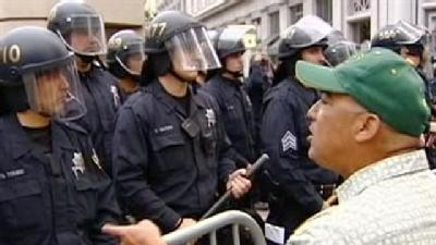 Police Evict 'Occupy Oakland' Campers