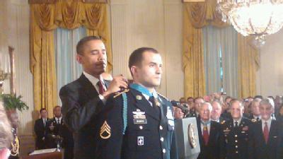 Iowan Receives Medal Of Honor