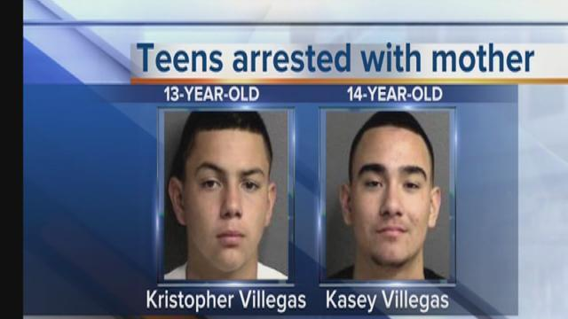 Family arrested for attempted murder