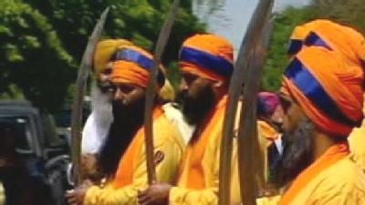 Thousands Of Sikhs March In Stockton