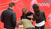 Victoria Beckham and Family Support Romeo as He Completes the Junior London Marathon