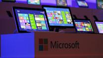 Microsoft Posts Smaller-Than-Expected Profit Decline