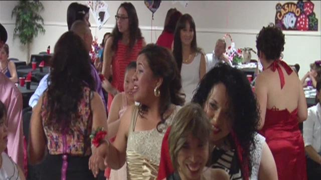 Special needs students go to prom