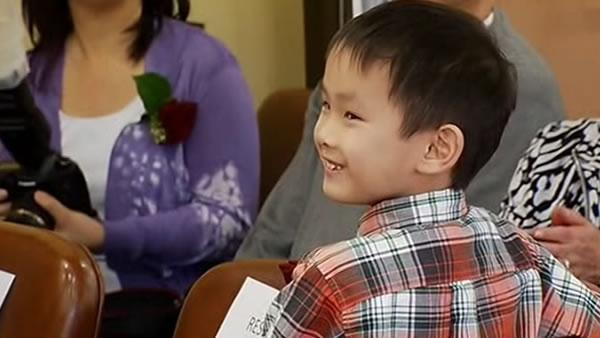 Bay Area boy meets life-saving blood donors