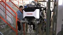 New robot could help Japan's nuke disaster