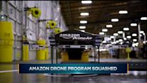 Amazon drone plan grounded... for now