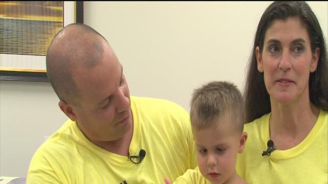 Group fighting to help 2-year-old battle cancer