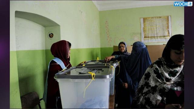 Voting Ends In Afghanistan Polls