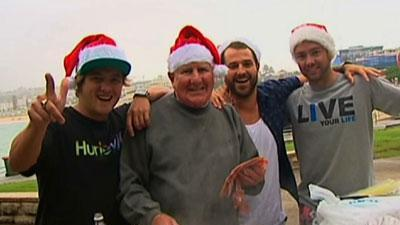 Raw: Beaches and BBQ for Australian Christmas