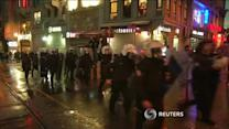 Turkish police fire water cannon, tear gas at Istanbul march