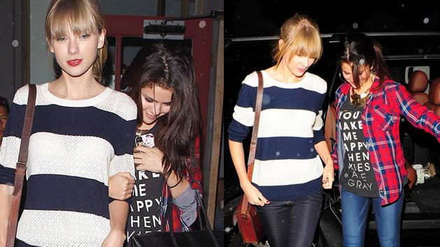 Selena Gomez And Taylor Swift's Day OUT