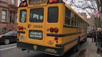 What is New York City's backup plan if school bus drivers go on strike?