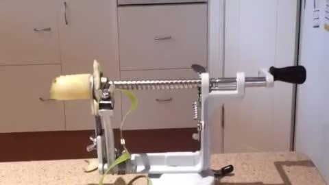 Awesome Apple Peeling Machine