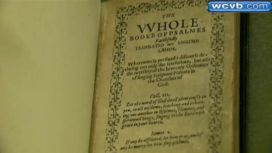 Members of Old South Church vote to sell rare 1640 book