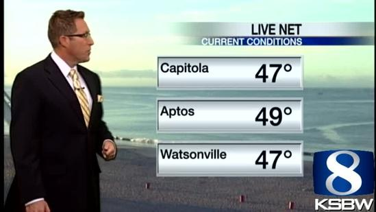 Get Your Thursday KSBW Weather Forecast 5.30.13