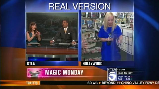 Real Version of Allie Mac Kay`s Magic Monday Segment