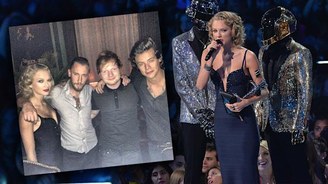 Taylor Swift & Harry Styles Reunite At MTV VMA After Party