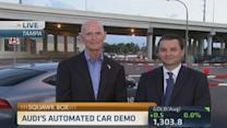 Look Ma, no hands! Automated car demos in Florida