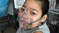 Second child gets on adult lung donor list