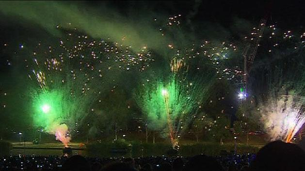 Adelaide welcomes in 2013