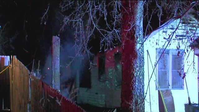 North Tulsa home catches fire on New Year's Day