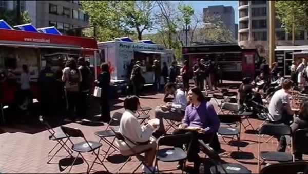 No parking for San Francisco food trucks at America's Cup