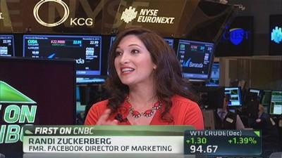 Twitter & video engagement: Randi Zuckerberg