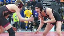 Teen female wrestler makes history in South Dakota