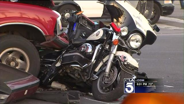 Driver Arrested After Crash Leaves Motorcycle Officer in Critical Condition