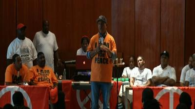 Russell Simmons, LL Cool J Visit Youth at Jail