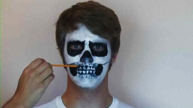 How to Create Halloween Face Painting Designs