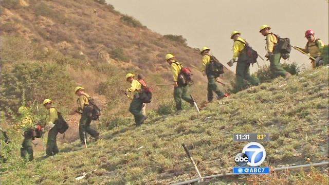 Madre Fire: Evacuations lifted, firefight continues