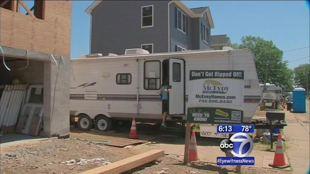 Union Beach homeowners still struggling to rebuild post-Sandy