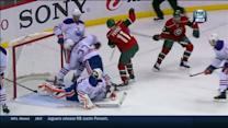 Parise sticks with it for PPG on Fasth