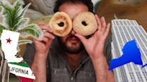 New Yorkers Try LA Bagels
