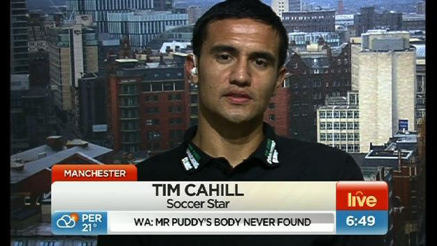 Tim Cahill interview