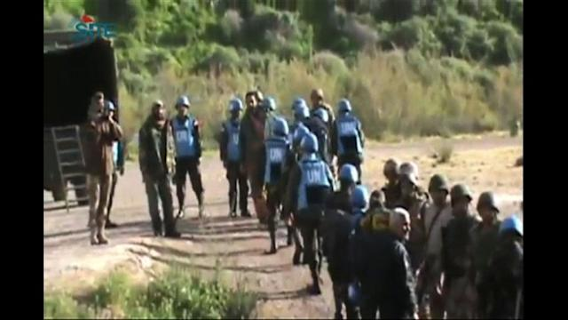 UN peacekeepers seized in Syria arrive in Amman