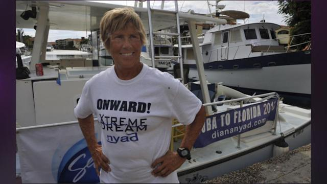 US Swimmer Near End Of Cuba To Florida Attempt