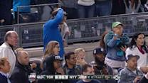 Young fan throws back Jeter foul