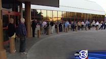 Long lines at Harris County polling locations